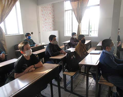 آغاز سال تحصیلی با دانش آموزان پایه هفتم